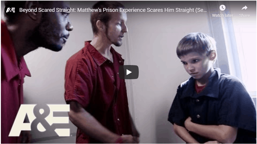 boot camp scared straight